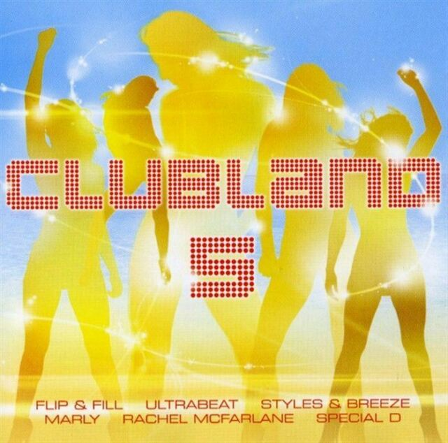CLUBLAND 5 various (2x CD Compilation) Hard House, Trance, Euro House, very good