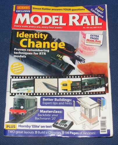 MODEL RAIL MAGAZINES VARIOUS ISSUES 2007