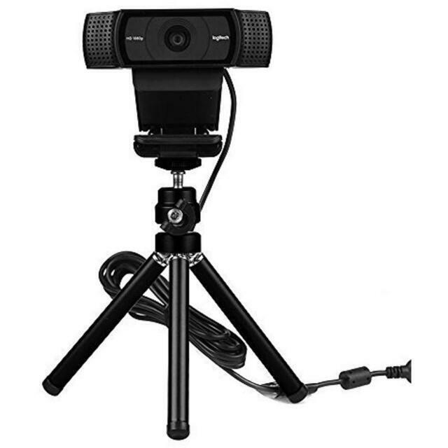 Lightweight Mini Webcam Tripod For Logitech C920 C922 Small Camera