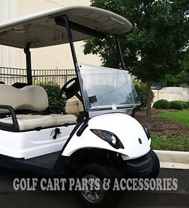 Yamaha DRIVE G29 Clear Windshield Folding (2007-UP) High Quality Golf Cart Part