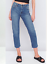 WOMENS-GIRLS-URBAN-CROPPED-MID-RISE-STRAIGHT-MOM-ACID-WASH-RIPPED-JEANS thumbnail 3