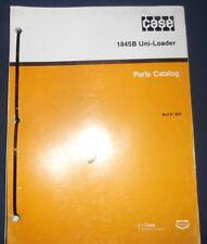 Case 1845b Uni Loader Skid Steer Parts Book Manual Catalog