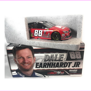 Genuine-2017-Dale-Earnhardt-Jr-Axalta-Last-Ride-NASCAR-Diecast-Car1-24-Scale-Red