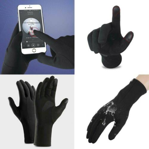 Waterproof Thermal Full Finger Winter Warm Cycling Anti-Skid Touch Screen Gloves