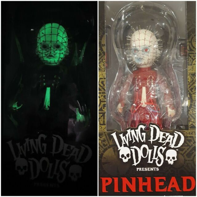 Living Dead Dolls - Hellraiser III: Hell on Earth Pinhead Exclusive Glow and Red