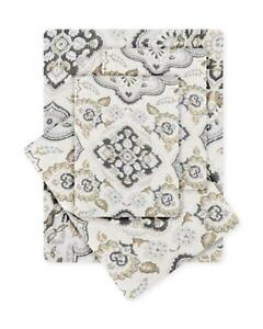 Hotel-Collection-Soft-Ethania-Neutral-Print-Pattern-4-Piece-Sheet-Set-Queen