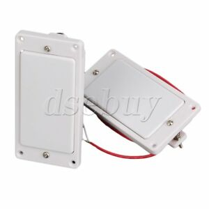 White-Electric-Guitar-Parts-Sealed-Double-Coil-Humbucker-Pickup-Set