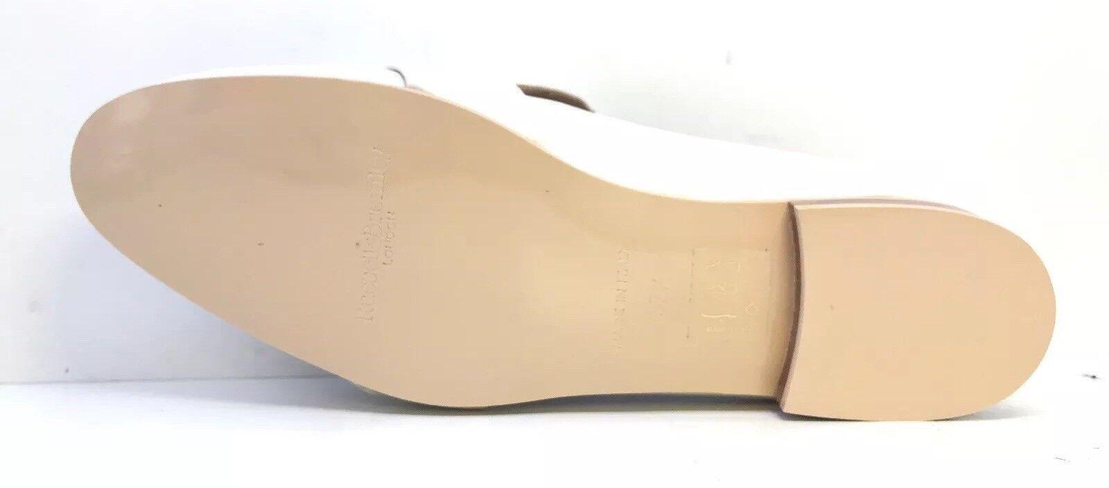 Russell & Bromley da Donna Camille ghiaccio Con al Polpaccio Fibbia Con ghiaccio Tacco Piatto Mocassini EU Taglia 37.5 21f203
