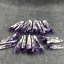 2PCS-Natural-Amethyst-Quartz-Cluster-Crystal-Wand-Point-Specimen-Healing-perfect thumbnail 6