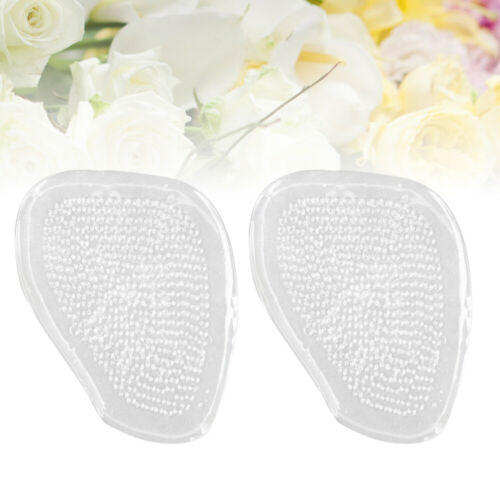 1 Pair Front Insole Clear Antiskid Pain Relief Forefoot Pad for Women