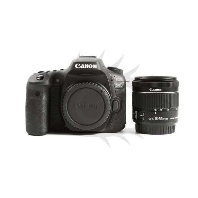 Canon EOS 90D Digital SLR Camera + EF-S 18-55mm f/3.5-5.6 IS STM Lens