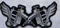 Tattoo Gun Embroidered Sew On Patch Tattoo Gun Ink Gun Small 4.25 X 2