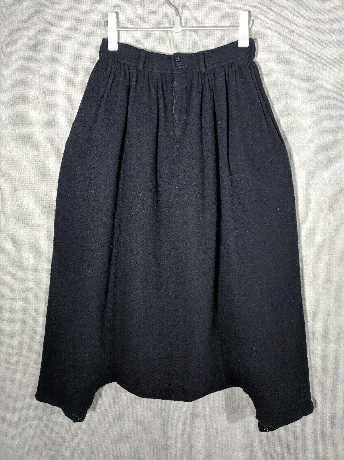Comme des Garcons FW 2006 Harem Sourrel Boiled Wool Pants Shorts