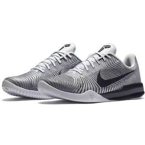 Details about Nike Kobe Mentality II 2 Cool Grey White Black Wolf Silver  818952-100 Men sz 8.5