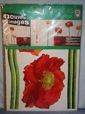 Nouvelles Images Home Stickers Cedric Porchez NIP Large Flowers Wall Art Deco