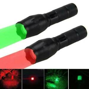 Red-Light-LED-Flashlight-3-Modes-Red-Torch-Lamp-Astronomy-Night-Vision-Camping