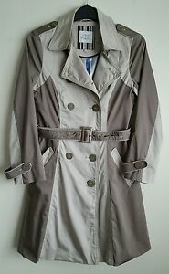 Details about PRINCIPLES PETITE BY BEN DE LISI LADIES BEIGE MAC COAT SIZE 10 P