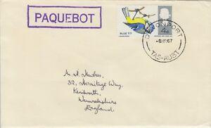 1967 Devonport Australia Paquebot Cover-afficher Le Titre D'origine