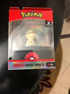 POKEMON WICKED COOL TOYS MIMIKYU SELECT COLLECTION FIGURE W// DISPLAY CASE