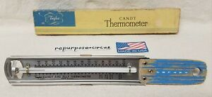 Vintage-Taylor-USA-Candy-amp-Jelly-Thermometer-Retro-Country-Kitchen-Decor-WORKS