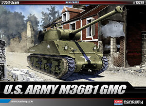 1-35-U-S-ARMY-M36B1-GMC-13279-ACADEMY-PLASTIC-MODEL-KITS