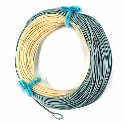 WF8F Real Bonefish Fly Fishing Line Sand/Blue 2 Welded Loop Special Design