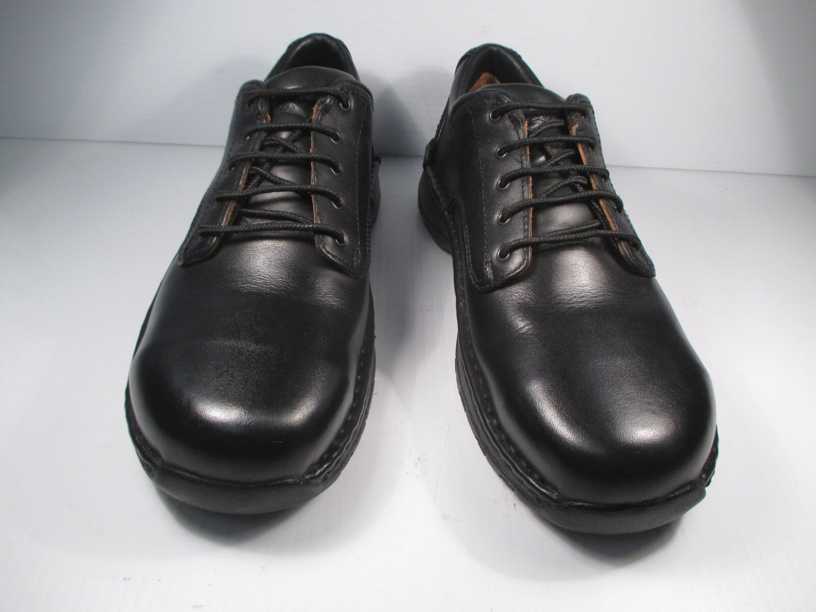 Red Wing Safety Toe Black Leather Oxford Style   6703 size 8.5 D medium