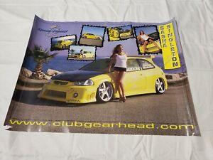 Club-Gear-Head-Sasha-Singleton-Tuner-Feels-Garcia-Honda-Civic-Poster-24-034-18-034-USA