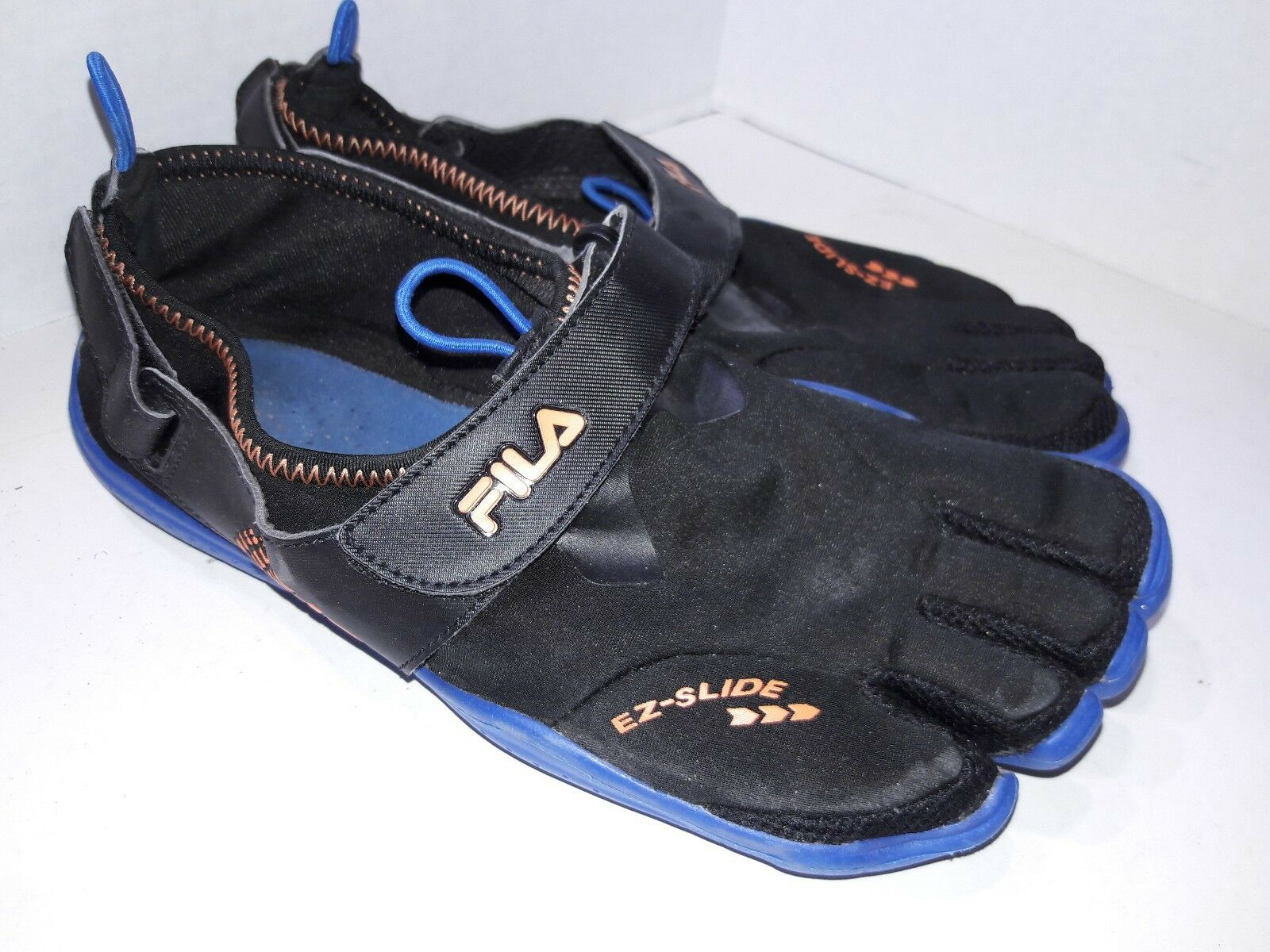 Men's FILA SKELE-TOES EZ SLIDE DRAINAGE Running Water Boat Beach shoes Size 9