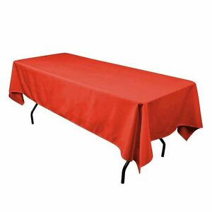 """Party Dinner Tablecloth 60/"""" x 102/"""" Gray lovemyfabric Polyester Holiday"""