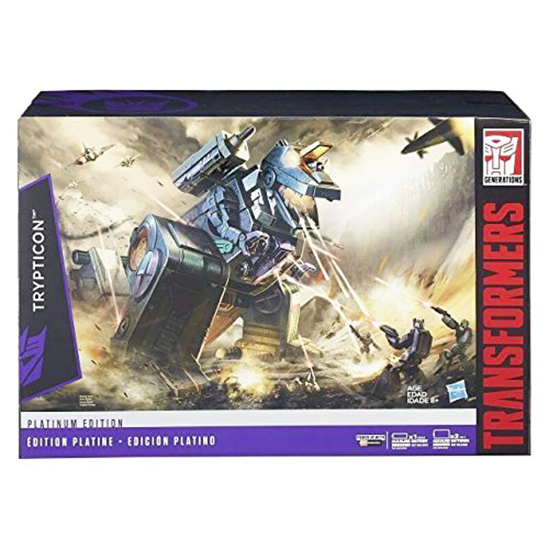 Transformers 100% Authentic Hasbro Platinum Edition G1 Reissue Trypticon MISB