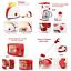 miniature 8 - Kids Play Cuisine Cuisson accessoires Home appliance rôle Semblant Jouet Fer Cadeau