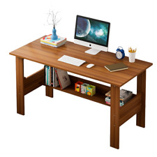 Computer Desk Table Workstation Home Office Writing Dorm Laptop Study Withshelf