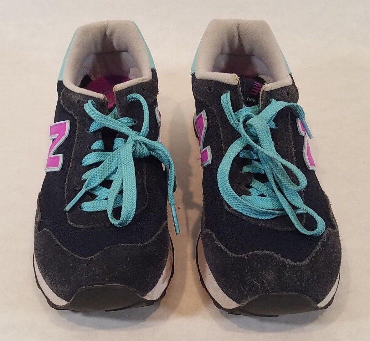 Women's New Balance WL515STV Violet Blue Black 9 Sneaker Shoe Size 9 Black 7c7e6f