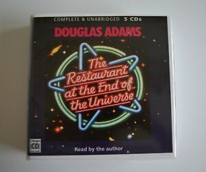 The-Restaurant-at-the-End-of-the-Universe-Douglas-Adams-Audiobook-5CDs
