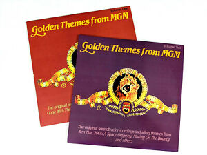 Golden Themes from MGM Vol. 1 & 2 1987 2x LP Vinyl MCA Records MSM 35073