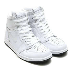 new concept 30904 26c1f Image is loading AIR-JORDAN-1-RETRO-HIGH-OG-PERFORATED-WHITE-