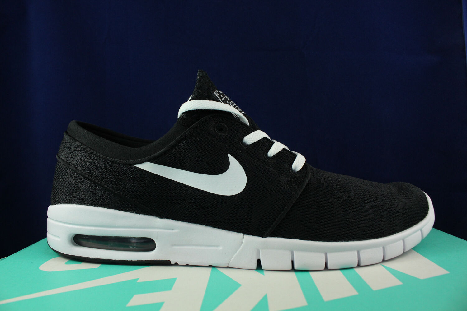 NIKE STEFAN JANOSKI MAX SB BLACK WHITE MESH 631303 010 Price reduction