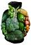 Mens Womens 3D print Funny broccoli Sweatshirt Hoodies Jogging pants Sport Suit