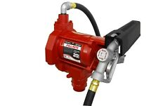 Fill Rite Fr700v 115v Ac 20gpm Heavy Duty Fuel Transfer Pump With Manual Nozzle