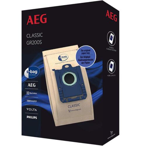 AEG S-Bag Staubsaugerbeutel Filtertüten für VX8-2-IW-A UltraSilencer Staubsauger