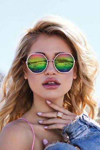 Quay AustraliaBREEZE IN sunglasses in gold purple