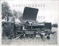 1960 US Army General Electric Mortar Locator Press Photo