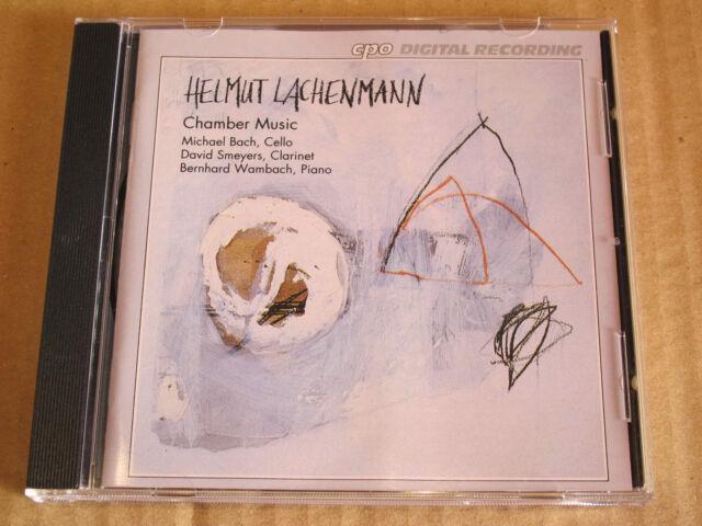 CD Helmut Lachenmann Chamber Music CPO