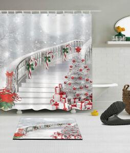 Image Is Loading 72x72 034 Bathroom Fabric Shower Curtain Carpet Bath