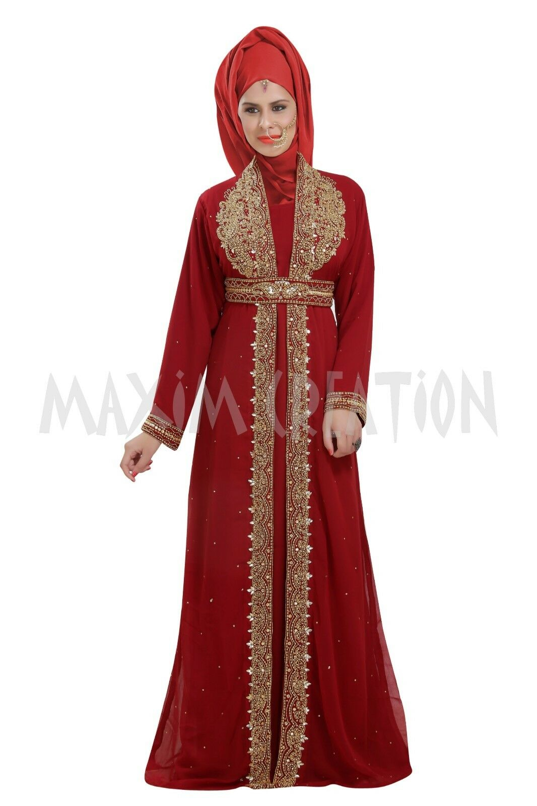 Wedding Gown Henna Party Wear Costume For Ladies By Maxim Creation 6646