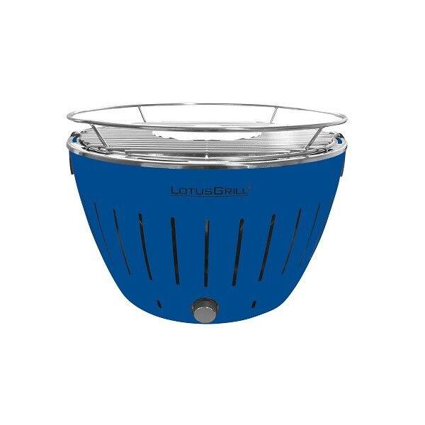 Lotus parrilla g-tb-34 profundo azul barbacoa de carbón vegetal