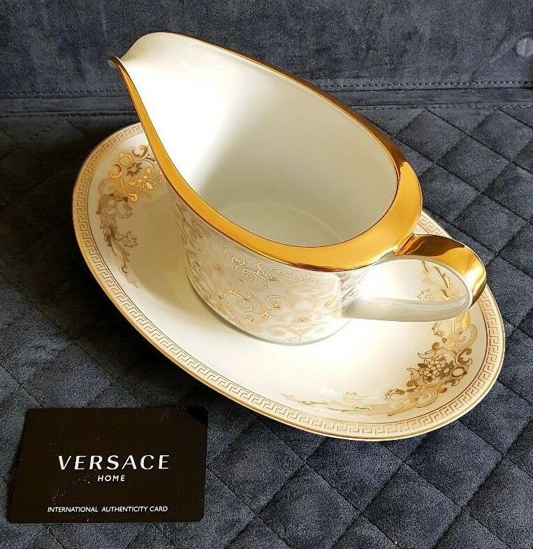 VERSACE RosaNTHAL Medusa Gala Dining Collection Sauce-boat 2 2 2 pcs (pv  ) da205f