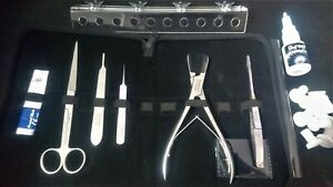 Complete-coral-propagation-tool-kit-with-frag-rack-and-coral-glue