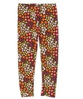 Gymboree Fall For Autumn Toddler Girl's Leggings Floral Size 3